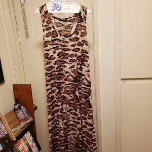 3X plus size maxi dress